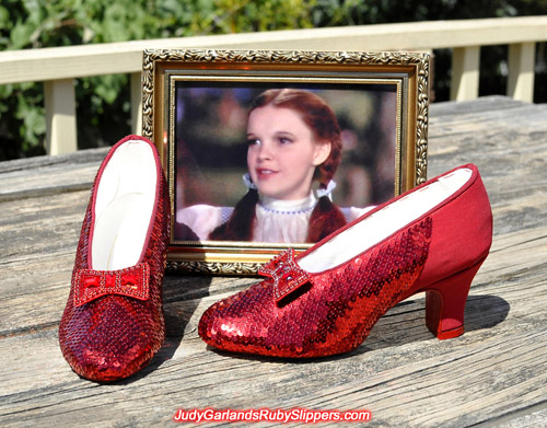 We're getting really close to finishing the ruby slippers