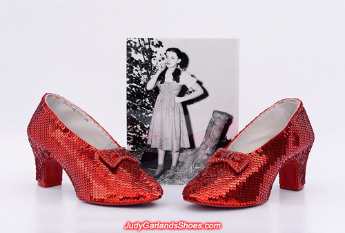 Absolutely stunning pair of ruby slippers