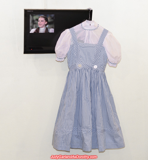 After Judy Garland as Dorothy's dress