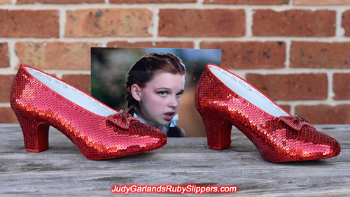 Another stunning pair of ruby slippers is finished