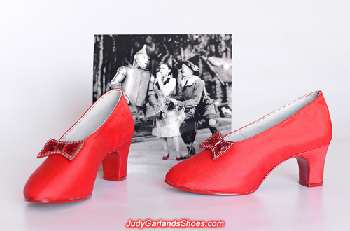 Brand new pair of shoes crafted in Judy Garland's size 5B