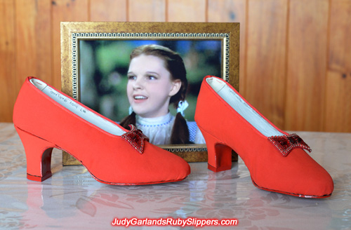 Custom-made 1930s style womens dance shoes
