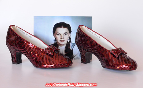 Gorgeous limited edition ruby slippers finishes in style