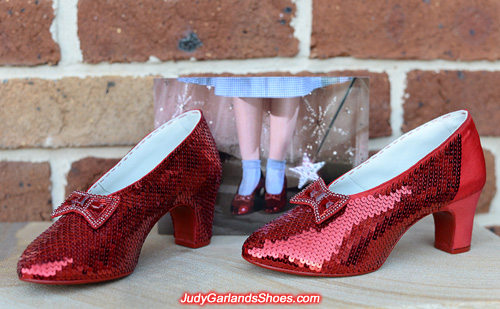 Home stretch with Judy Garland's ruby slippers project