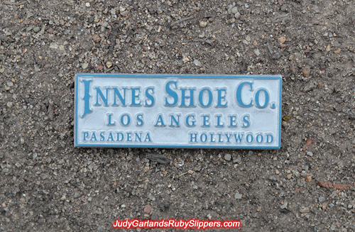Innes Shoe Company metal embossing block