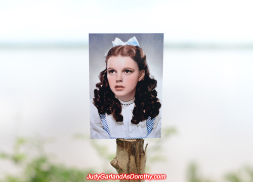 Judy Garland as Dorothy in Laos