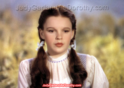 Judy Garland as Dorothy was groped by the Munchkins
