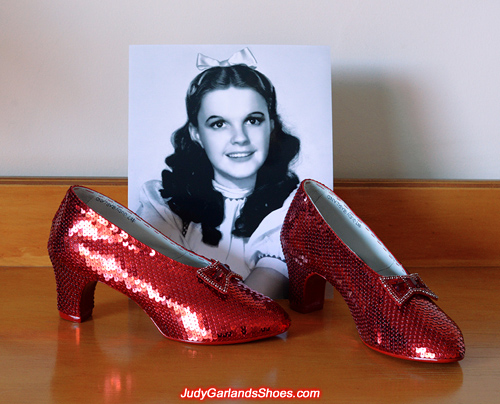 Judy Garland's ruby slippers crafted in November, 2017