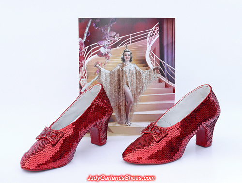 Judy Garland's ruby slippers crafted in October, 2017