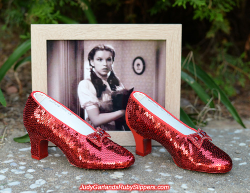 Judy Garland's ruby slippers is looking very impressive