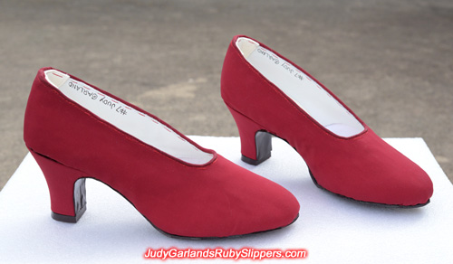 Judy Garland's size 5B base shoes