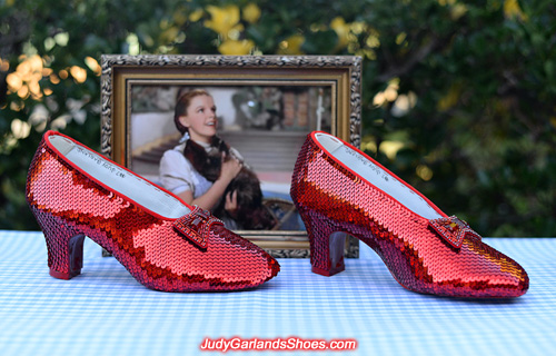 Judy Garland's size 5B ruby slippers