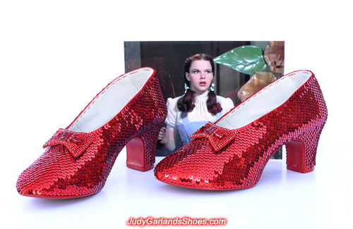 July 2017 project completed with Judy Garland's ruby slippers