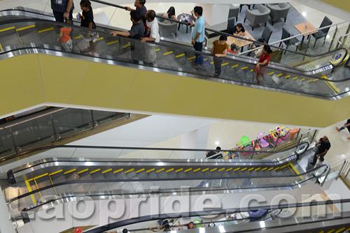 Lao ITECC shopping mall in Vientiane, Laos