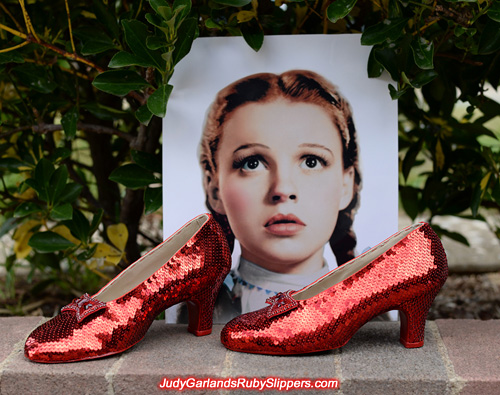 March, 2016 project with the ruby slippers is finished