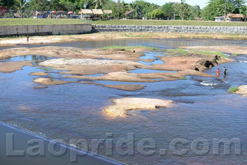 Nam Suang river near Vientiane
