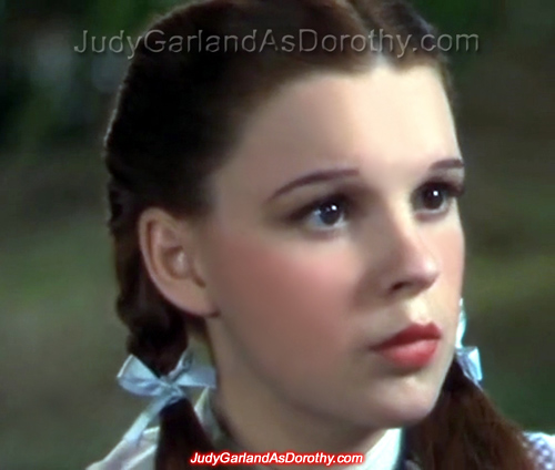 Never seen before picture of Judy Garland as Dorothy