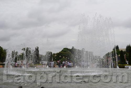 Patuxay Monument in Vientiane, Laos