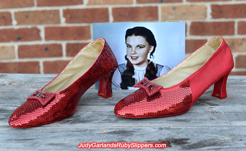 Size 10 ruby slippers is on track to be a beauty