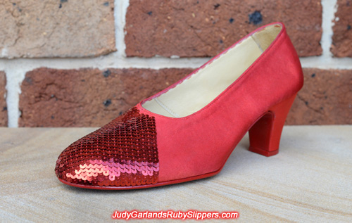Size 8 ruby slippers inching closer to finish line