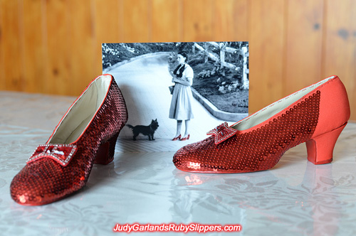 The ruby slippers is looking impressive as they near the end
