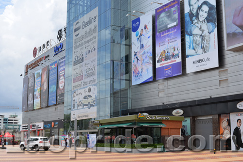 Vientiane Center shopping mall in Vientiane, Laos