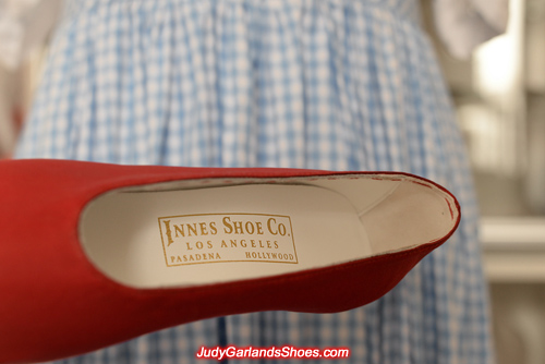 Authentic Innes Shoe Company golden embossed label