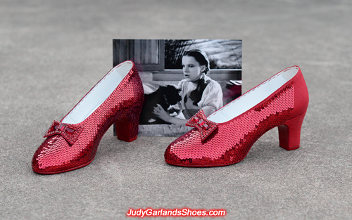 Close to the finish line with August, 2018 ruby slipper project