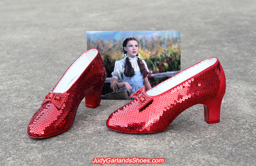Crafting a high quality pair of ruby slippers