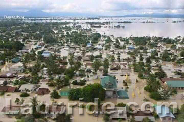 Flash floods hit Attapeu province in Laos