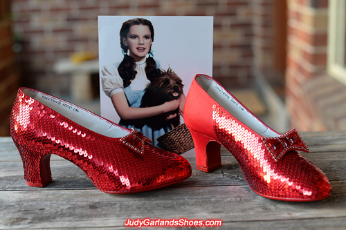 High quality ruby slippers taking shape in January, 2018