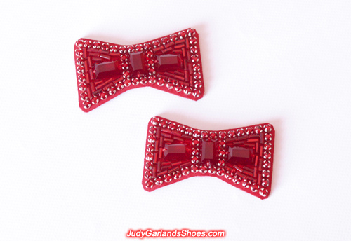 High quality hand-sewn ruby slipper bows