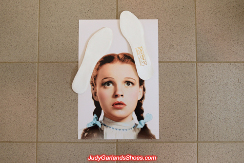 Insoles for Judy Garland's size 5B shoes