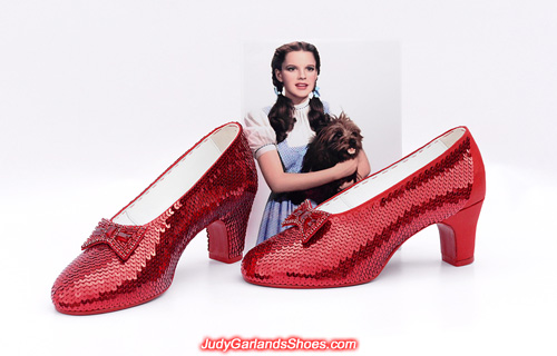 Job with hand-sewn ruby slippers is close to the finish line