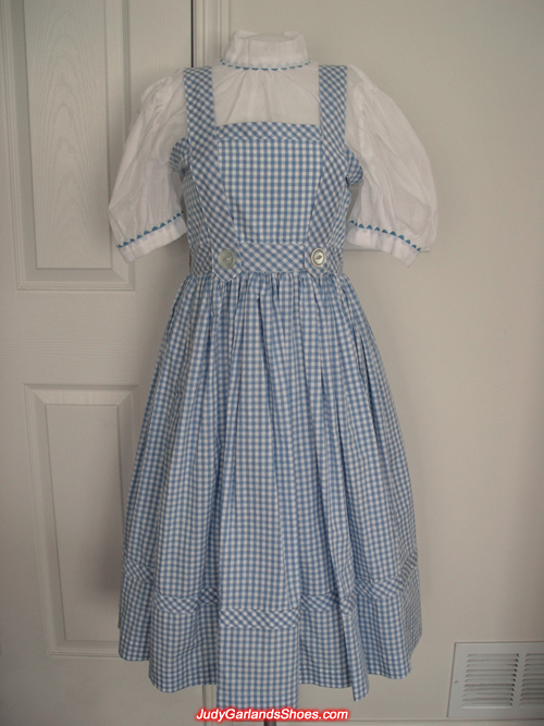 Judy Garland as Dorothy's dress