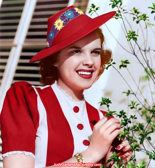 Judy Garland in 1940 (18 years old)