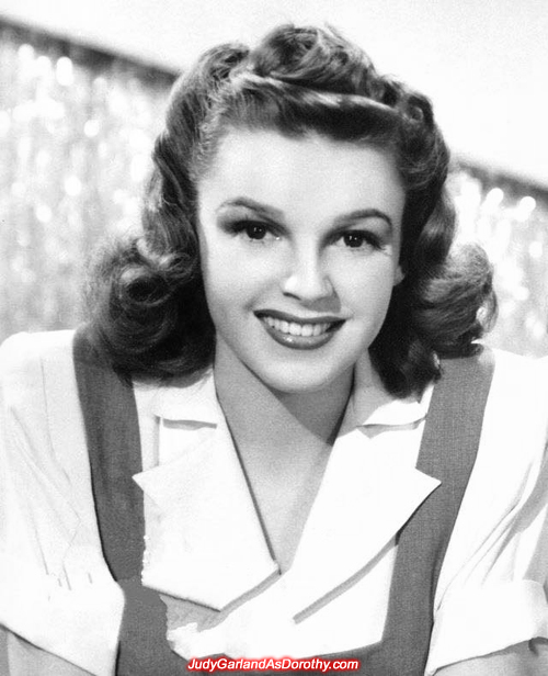 Judy Garland in 1941 (19 years old)