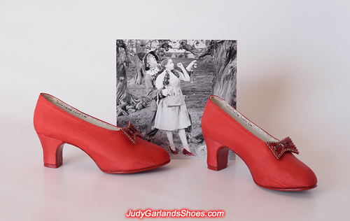 Judy Garland's American size 5B shoes