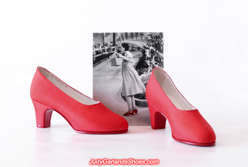 Judy Garland's handmade size 5B shoes