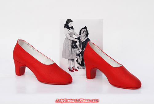 Judy Garland's handmade wearable size 5B shoes