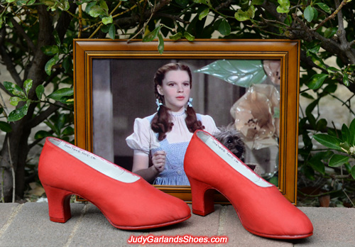 Judy Garland's pair of size 5B shoes