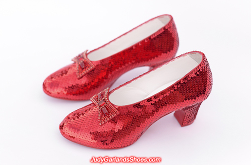Judy Garland's ruby slippers crafted in January, 2018