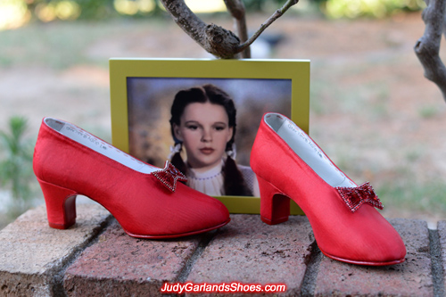 Judy Garland's size 5B base shoes with wooden heels