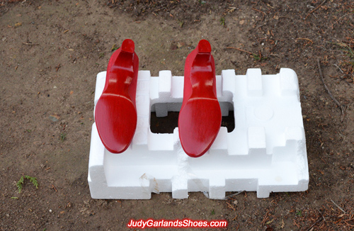 Judy Garland's size 5B shoe soles