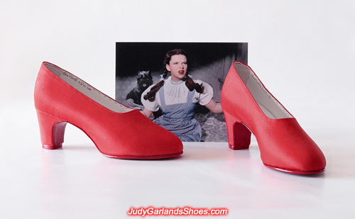 Judy Garland's size 5B shoes made to be worn