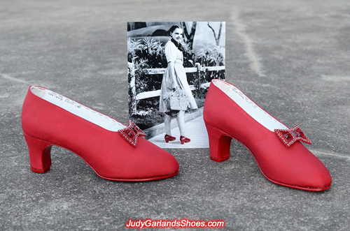 Judy Garland's size 5B shoes