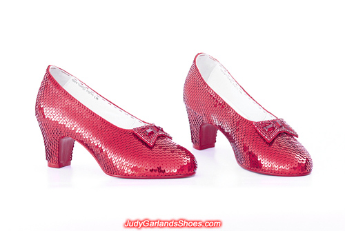September 2019 hand-sewn ruby slippers