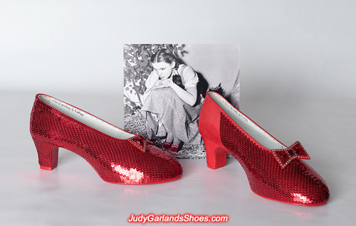 Size 10 ruby slippers looks beautiful so far