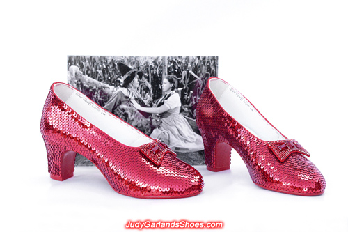 Size 5B hand-sewn ruby slippers in October, 2019