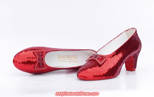 Size 5B high quality hand-sewn ruby slippers